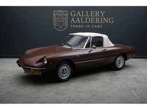 Picture of 1979 Alfa Romeo Spider 1600 two owners, original Dutch delivered  For Sale
