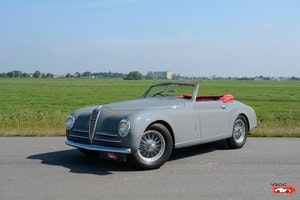 Picture of Alfa Romeo 6C 2500 SS Pininfarina Cabriolet 1948 For Sale