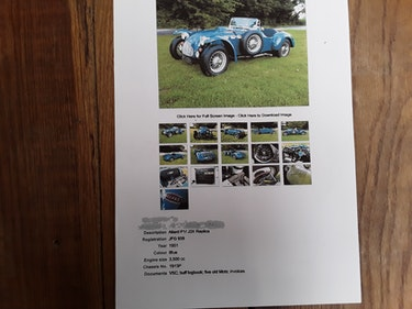 Picture of 1951 allard j2x For Sale