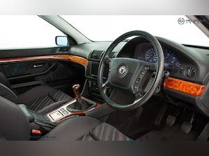 1999 ALPINA B10 3.3 TOURING // 1 OF 19 // ORIENT BLUE METALLIC For Sale (picture 17 of 31)