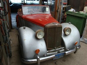Picture of 1948 Alvis TA14 DHC RHD for sale For Sale
