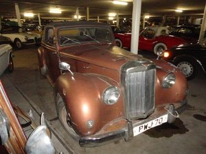Picture of 1952 Alvis TC convertible RHD for sale For Sale
