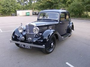 Picture of 1937 Alvis 12/70 4 light sports saloon SOLD