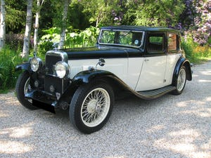 1933 Alvis SA 16.95 Sports Saloon For Sale (picture 2 of 12)