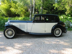 1933 Alvis SA 16.95 Sports Saloon For Sale (picture 3 of 12)