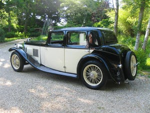 1933 Alvis SA 16.95 Sports Saloon For Sale (picture 4 of 12)