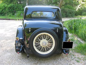 1933 Alvis SA 16.95 Sports Saloon For Sale (picture 5 of 12)