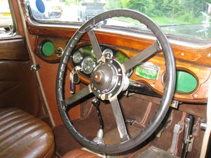 1933 Alvis SA 16.95 Sports Saloon For Sale (picture 8 of 12)