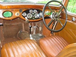 1933 Alvis SA 16.95 Sports Saloon For Sale (picture 9 of 12)