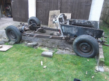 Picture of 1947 Alvis ta14 rolling chassis For Sale