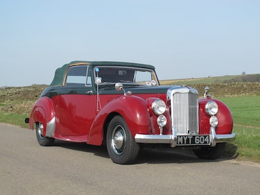 Picture of 1952 Alvis TA21 Three Position Drophead Coupe 27th April For Sale by Auction