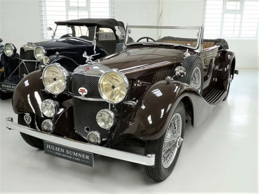 Picture of 1935 ALVIS SPEED 20 SC with 'Special' Coachwork by Vanden Plas For Sale