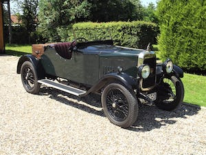 1928 Alvis 12/50 Two Seater Special For Sale (picture 1 of 28)