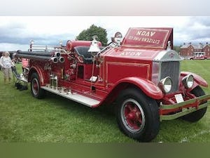 1929 American LaFrance L-351 Fire Truck For Sale (picture 1 of 6)