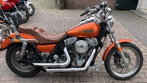 Picture of 1985 harley davidson FXR custom 1075 made SOLD