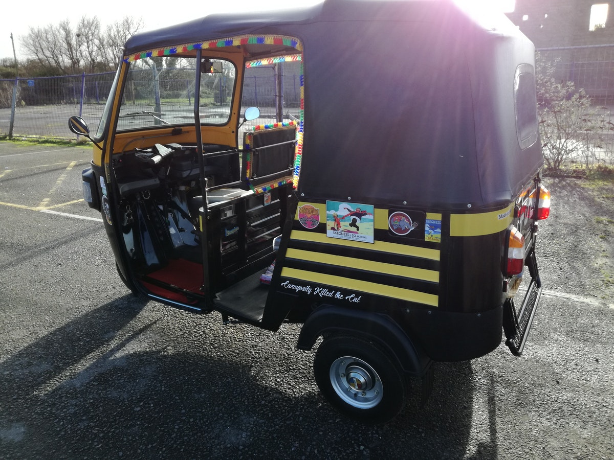 2020 Atul Tuk tuk 70reg, just 9 miles, ready to go. SOLD (picture 3 of 6)