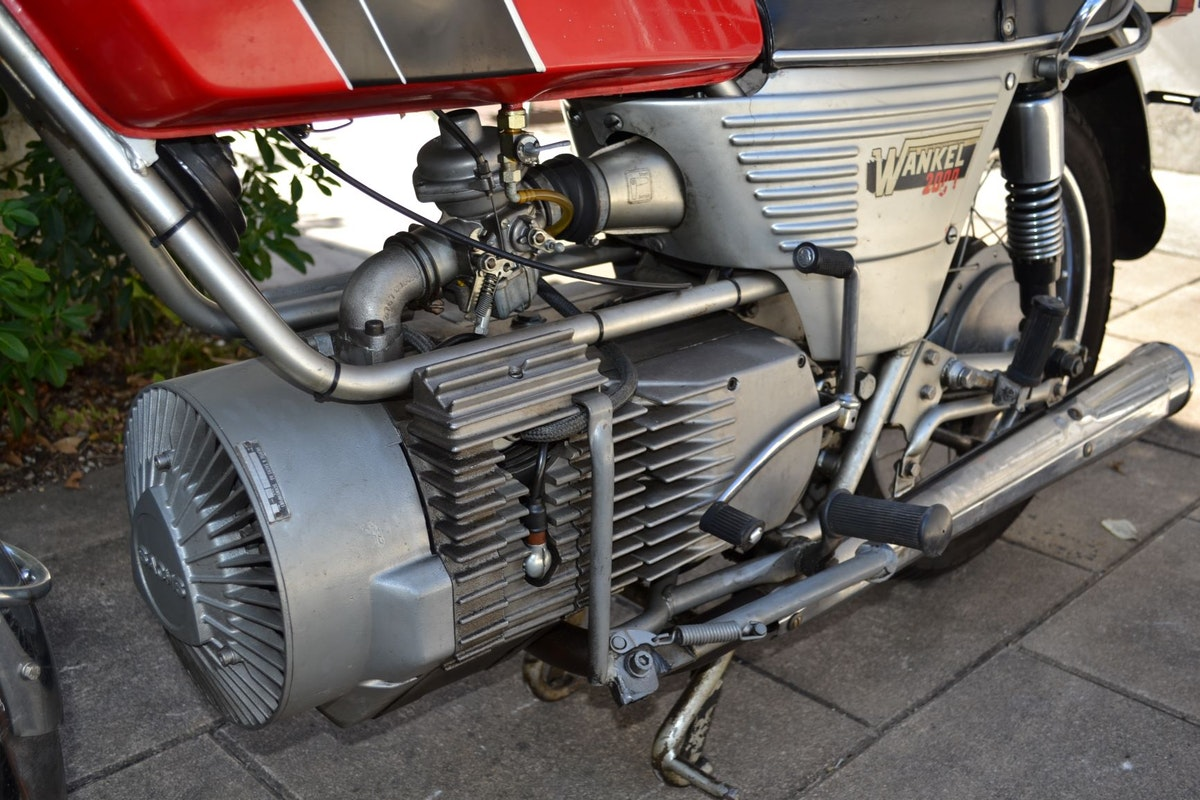 1975 Hercules Rotary Wankel W2000 For Sale (picture 7 of 8)