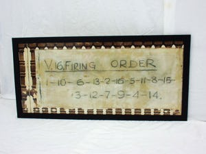 BRM v16 firing order 4ft x 2ft from bourne works For Sale (picture 3 of 3)