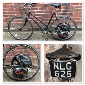 Picture of 1950 Cyclemaster with transferable reg valued £2500 For Sale