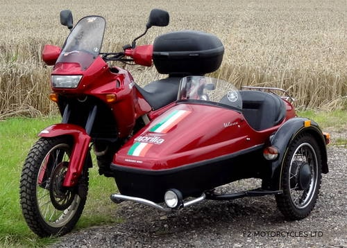 1997 Aprilia Pegaso 650 Sidecar outfit, MOTed and ready to ride SOLD (picture 1 of 6)
