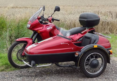 1997 Aprilia Pegaso 650 Sidecar outfit, MOTed and ready to ride SOLD (picture 4 of 6)
