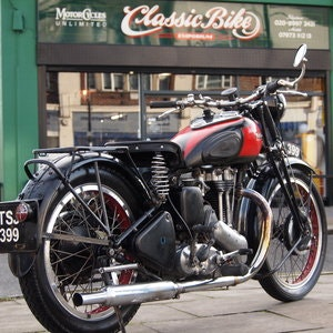 Picture of 1947 Ariel NH350 Girder Fork Model. RESERVED FOR ANDREW. SOLD