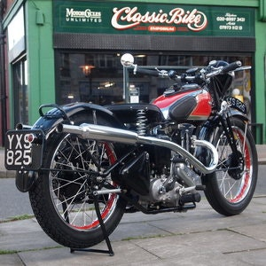 Picture of 1934 Ariel LH 250 Rare Red Hunter, RESERVED FOR JEREMY. SOLD