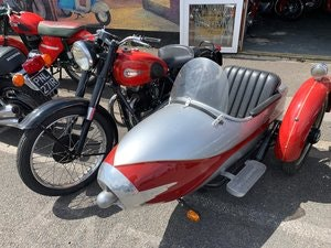 Picture of 1954 UNIQUE CLASSIC ARIAL WITH SIDECAR For Sale