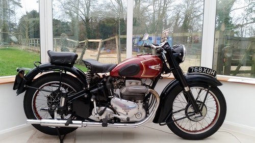 Picture of 1951 Ariel Square Four 1000 mint condition For Sale