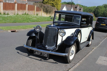 Picture of 1935 Armstrong Siddeley 17 HP Salmons & Sons Tickford Drophe For Sale