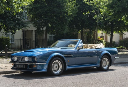 Picture of 1980 Aston Martin V8 Vantage Volante X-Pack Specification (RHD) For Sale