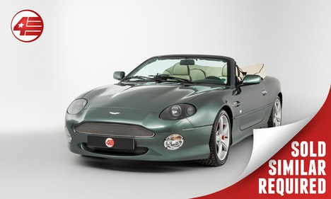 Picture of 2003 Aston Martin DB7 Vantage Volante /// Similar Required For Sale