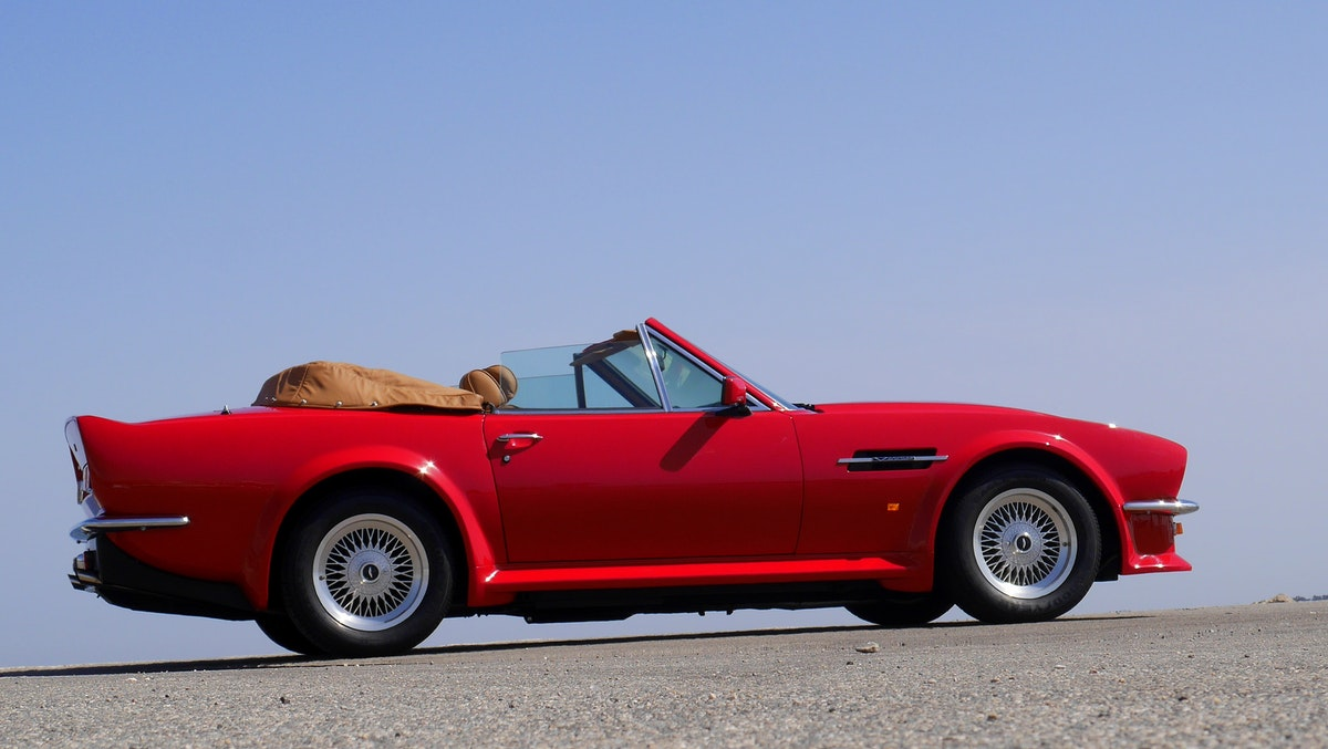 1988 V8 VANTAGE VOLANTE X PACK AS NEW For Sale (picture 11 of 12)
