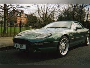 1999 Aston Martin DB7 Volante manual gearbox For Sale (picture 1 of 7)