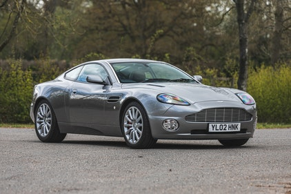 Picture of 2002 Aston Martin Vanquish V12 For Sale by Auction