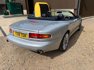 2001 Aston Martin DB7 Vantage Volante (TouchTronic)  For Sale (picture 4 of 10)