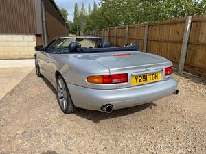 2001 Aston Martin DB7 Vantage Volante (TouchTronic)  For Sale (picture 5 of 10)