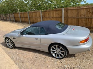 2001 Aston Martin DB7 Vantage Volante (TouchTronic)  For Sale (picture 8 of 10)