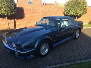 1987 Aston Martin V8 Vantage X-Pack Volante 5.3 Manual For Sale (picture 5 of 17)