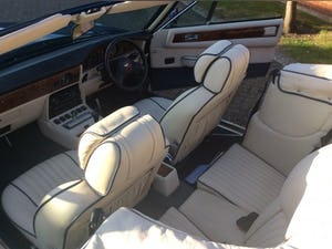 1987 Aston Martin V8 Vantage X-Pack Volante 5.3 Manual For Sale (picture 12 of 17)