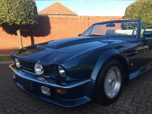 1987 Aston Martin V8 Vantage X-Pack Volante 5.3 Manual For Sale (picture 14 of 17)