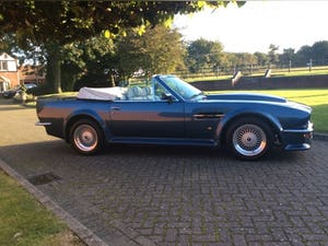 1987 Aston Martin V8 Vantage X-Pack Volante 5.3 Manual For Sale (picture 15 of 17)