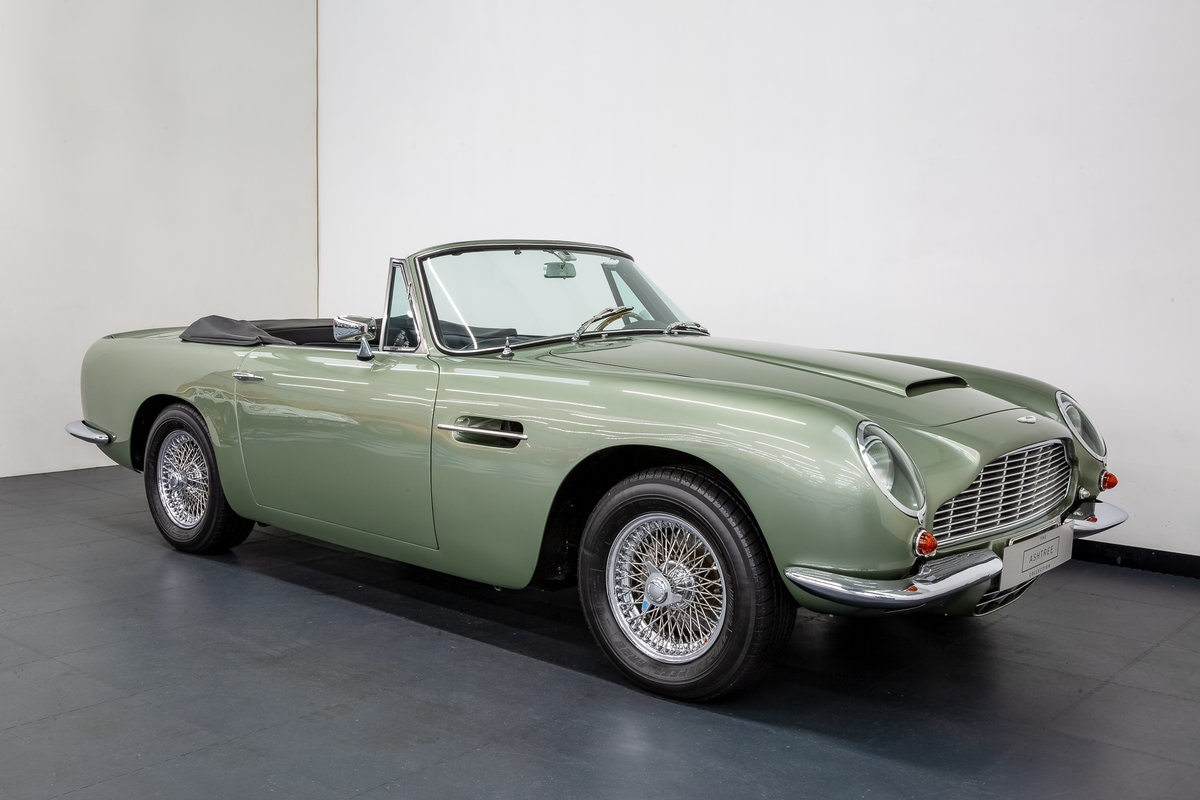 1968 ASTON MARTIN DB6 VOLANTE 1 of 140 CARS BUILT. For Sale (picture 1 of 6)