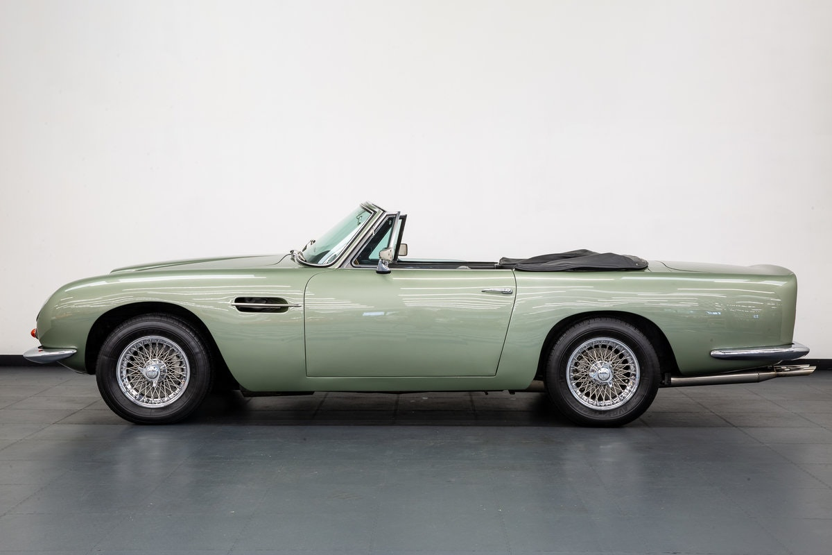 1968 ASTON MARTIN DB6 VOLANTE 1 of 140 CARS BUILT. For Sale (picture 2 of 6)