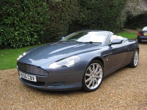 2006 Aston Martin DB9 Volante With Only 29,000 Miles From New For Sale (picture 1 of 6)