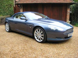 2006 Aston Martin DB9 Volante With Only 29,000 Miles From New For Sale (picture 2 of 6)