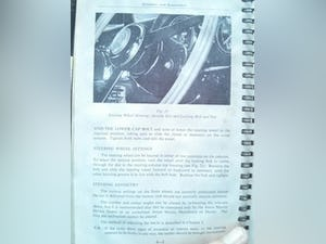 1965 DB5 4litre instruction book - original'65 REDUCED For Sale (picture 3 of 5)