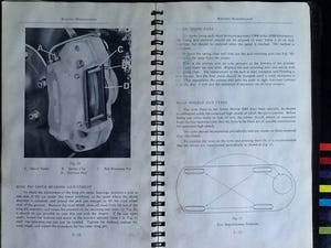 1965 DB5 4litre instruction book - original'65 REDUCED For Sale (picture 4 of 5)