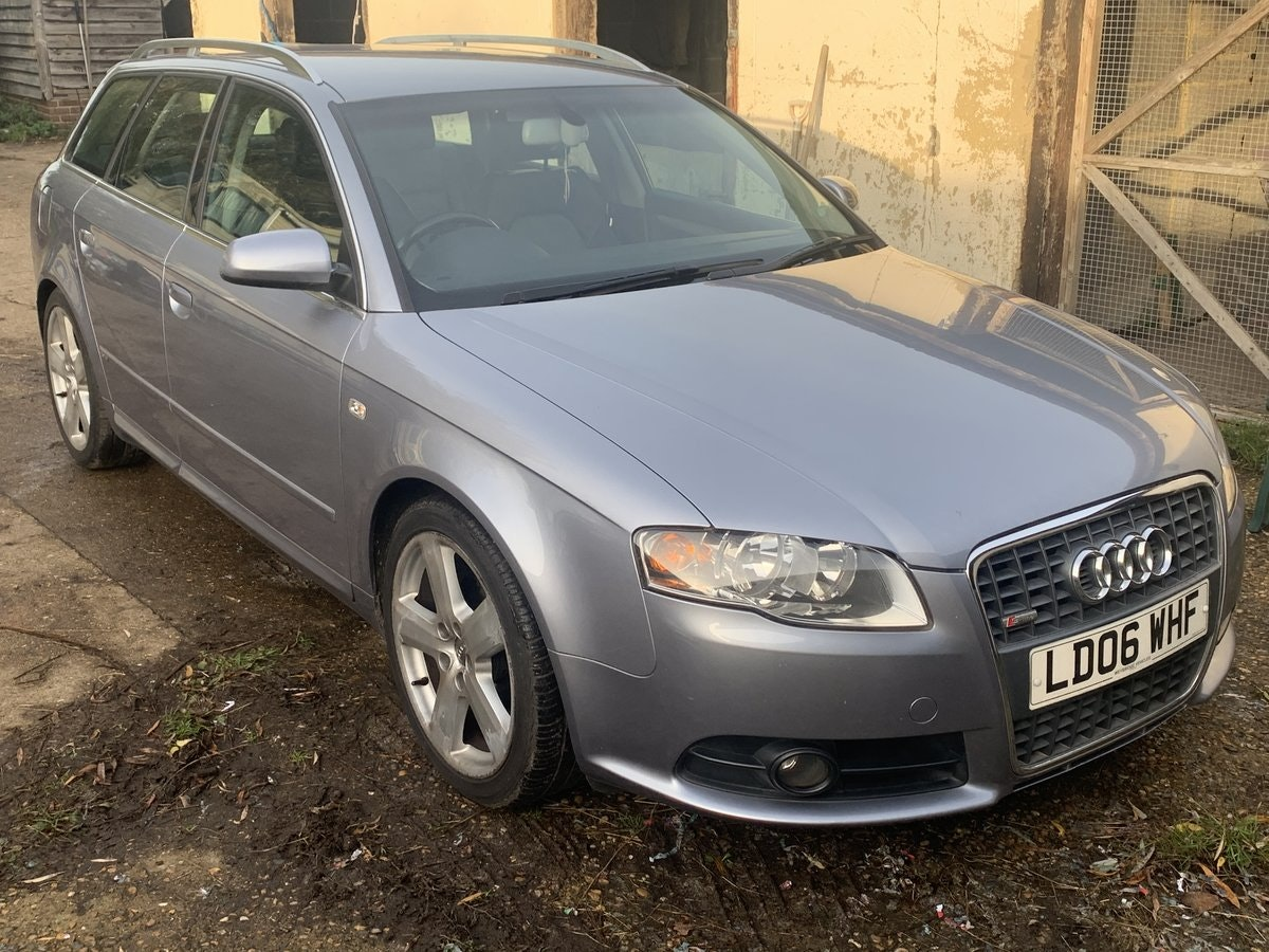 2006 Audi A4 Avant 2.0 TDI S Line Special Edition For Sale (picture 1 of 6)