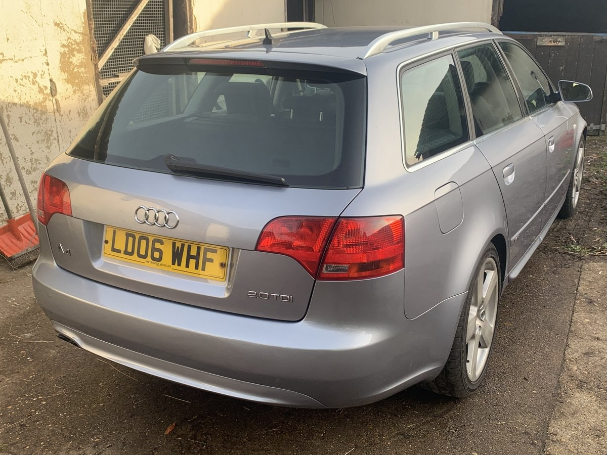 2006 Audi A4 Avant 2.0 TDI S Line Special Edition For Sale (picture 2 of 6)